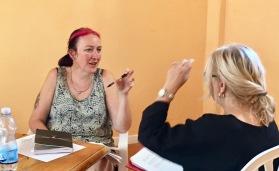 Italian Writing Retreat - Discussion