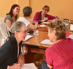 Italian Writing Retreat - Workshop discussions