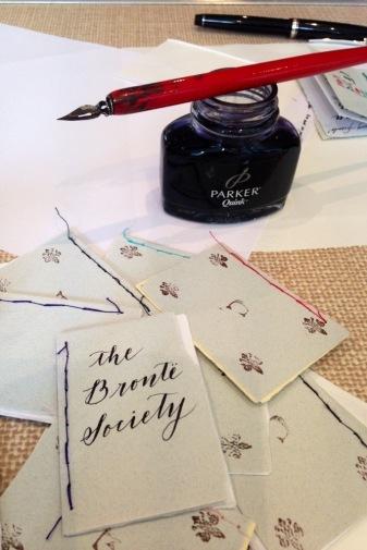 Brontë Parsonage Museum - little books workshop